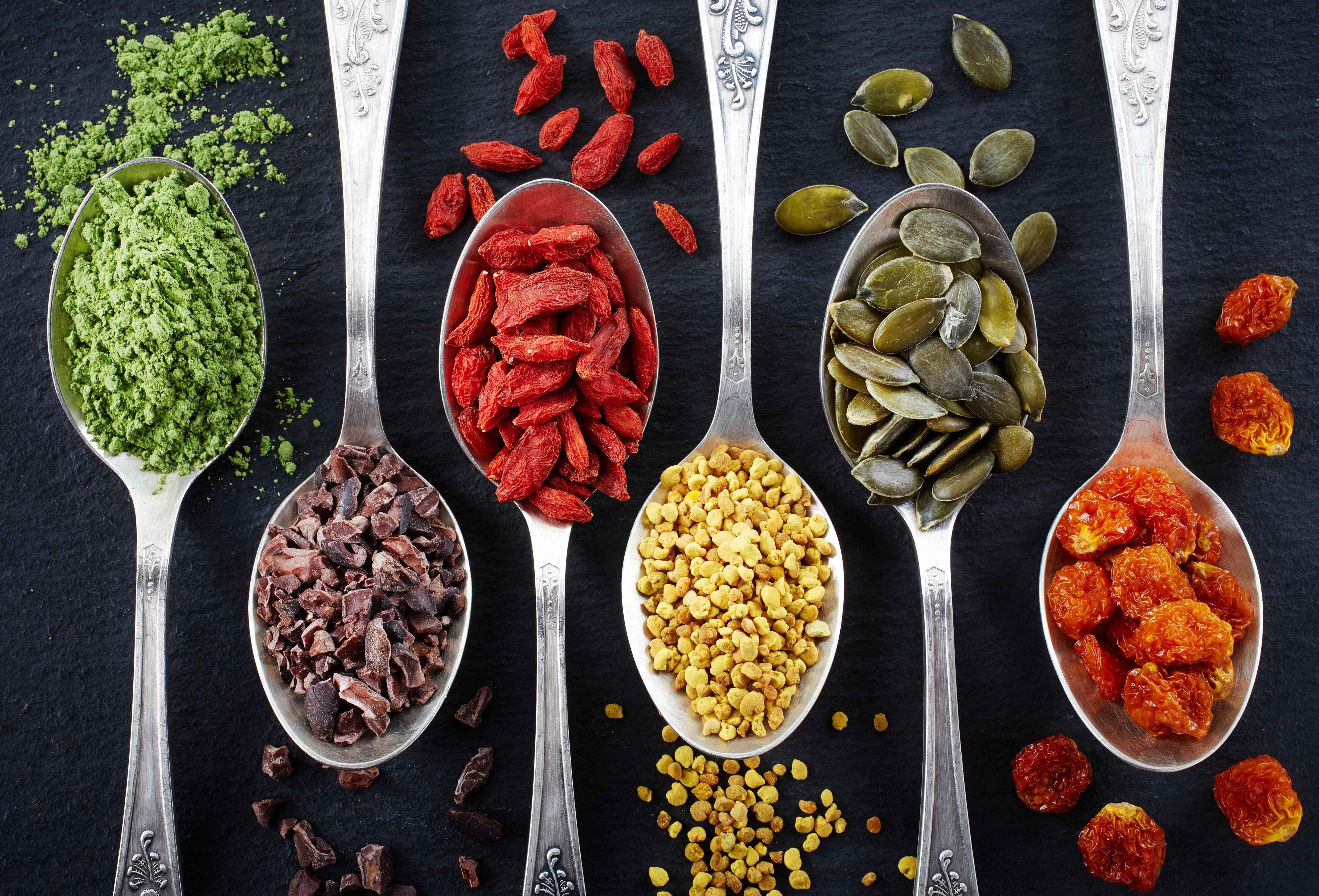 Superpotraviny – jedinečné zdravé potraviny