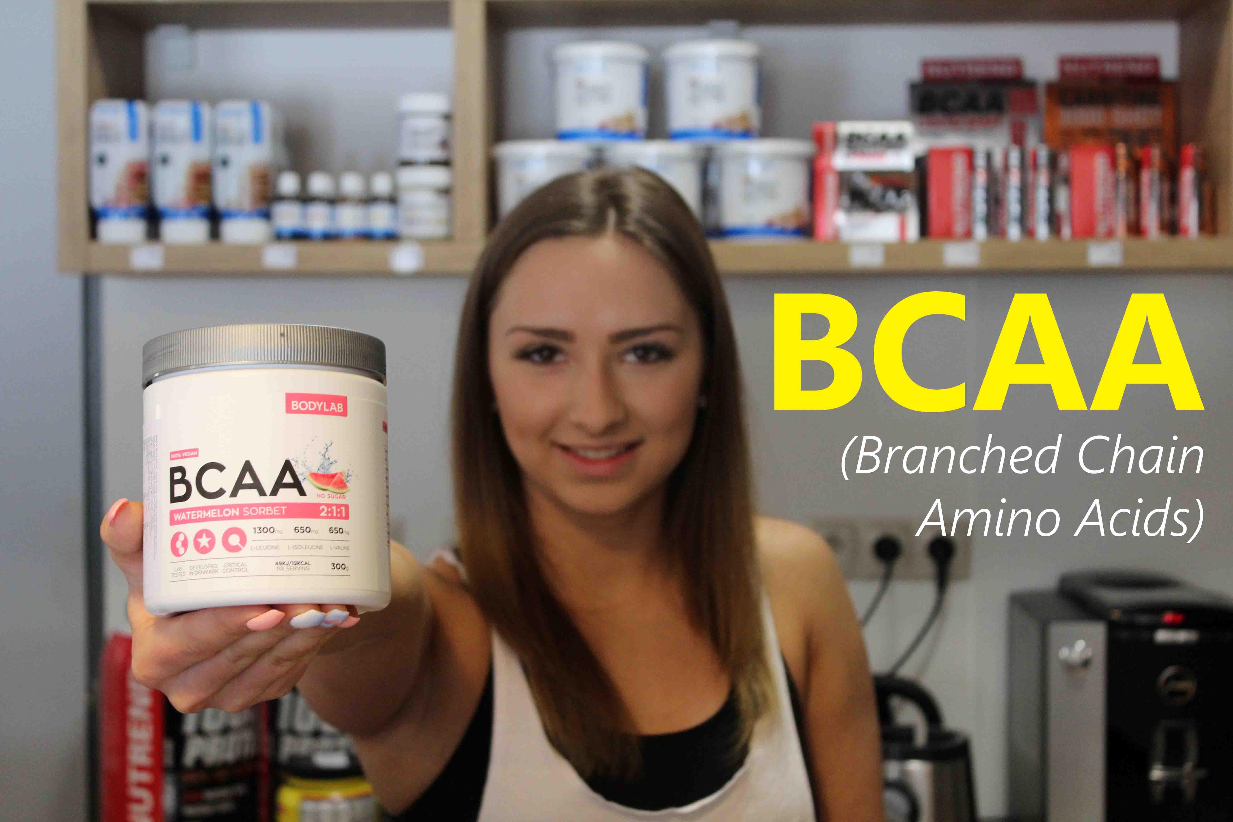 BCAA – šikovný pomocník pri tréningu